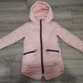 Куртка осень, синтепон 150 на рост до 135см