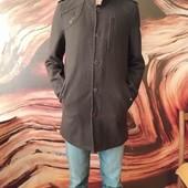 Пальто осеннее, стильное на подростка. р.46-48. Замеры