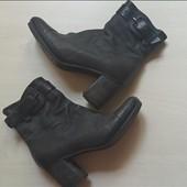 Ботинки демисезонные кожаные дорого бренда Airstep. разм.38 (24,5)