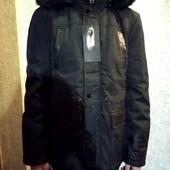 Зимняя мужская куртка на меху. Размер L