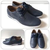 Стильные и легкие мужские туфли весна-осень! Размеры от 40,,4142,43,45