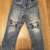 Круті джинсики киці від H&M 1,5/3 poku