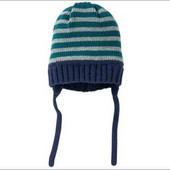 lupilu. вязаная шапка на флисовой подкладке 74/80