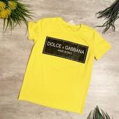 Стильная футболка (унисекс)