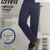 Отличные функциональные спортивные штаны Crivit Германия размер L (52/54)