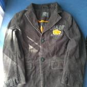 Крутой вельветовый пиджак для вашего модника, р.122