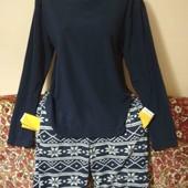 флисовая пижама пог. 54 поб. 55