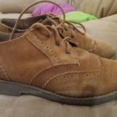 Замшевый туфли оксфорды, 37