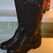 Сапоги демисезонные женские Vera pelle tiltoa, 40 р-р, стелька 26 см