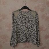 Красивая блуза , приятная вискоза! УП скидка 10%