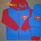Качество выше цены теплый с начесом костюм для настоящих суперменов! Ук скидка 10%