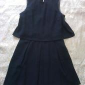 черно-угольное платье la petite parisienne 44-46р.