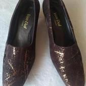 Шикарные туфли лоферы от van dal Англия