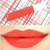 Maybelline superstay matte 25 heroine
