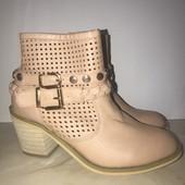 Демисезонные ботиночки, кожзаменитель, стелька 22 см
