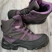 Термо ботиночки Ecco gore-Tex 35 размер стелька 22,5 см