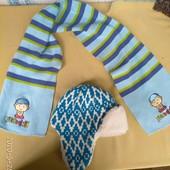 Шапка ушанка/зима + в подарок шарф