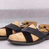 тапочки кожаные мужские sperry размер 40 на стопу 25.5 - 26 см