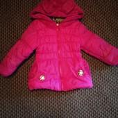 Разгружаю шкаф!!Куртка-пальто на холодную осень,примерно на 2-3 года.Смотрите замеры!!!