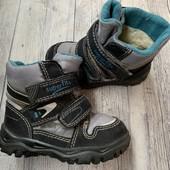Термо ботиночки Superfite 22 размер стелька 14 см .
