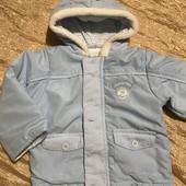 Демі курточка на 3-6 місяців, носили до року
