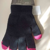сток terranova женские перчатки touch screen
