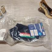 Германия!!! Лот из 5 миленьких носочков для девочки! 86/92, 19-22 размер!