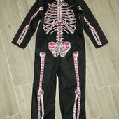 Карнавальный костюм на Хеллоуин для девочки 3-4года замеры на фото