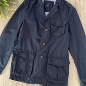 Мужской пиджак ( без подкладки). Размер s. В отличном состоянии.
