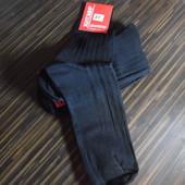 Мужские носки базовые, полушерсть, 3 шт в лоте, р. 27 (41-43)