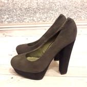 Стильные фирменные туфли ,36 р-р