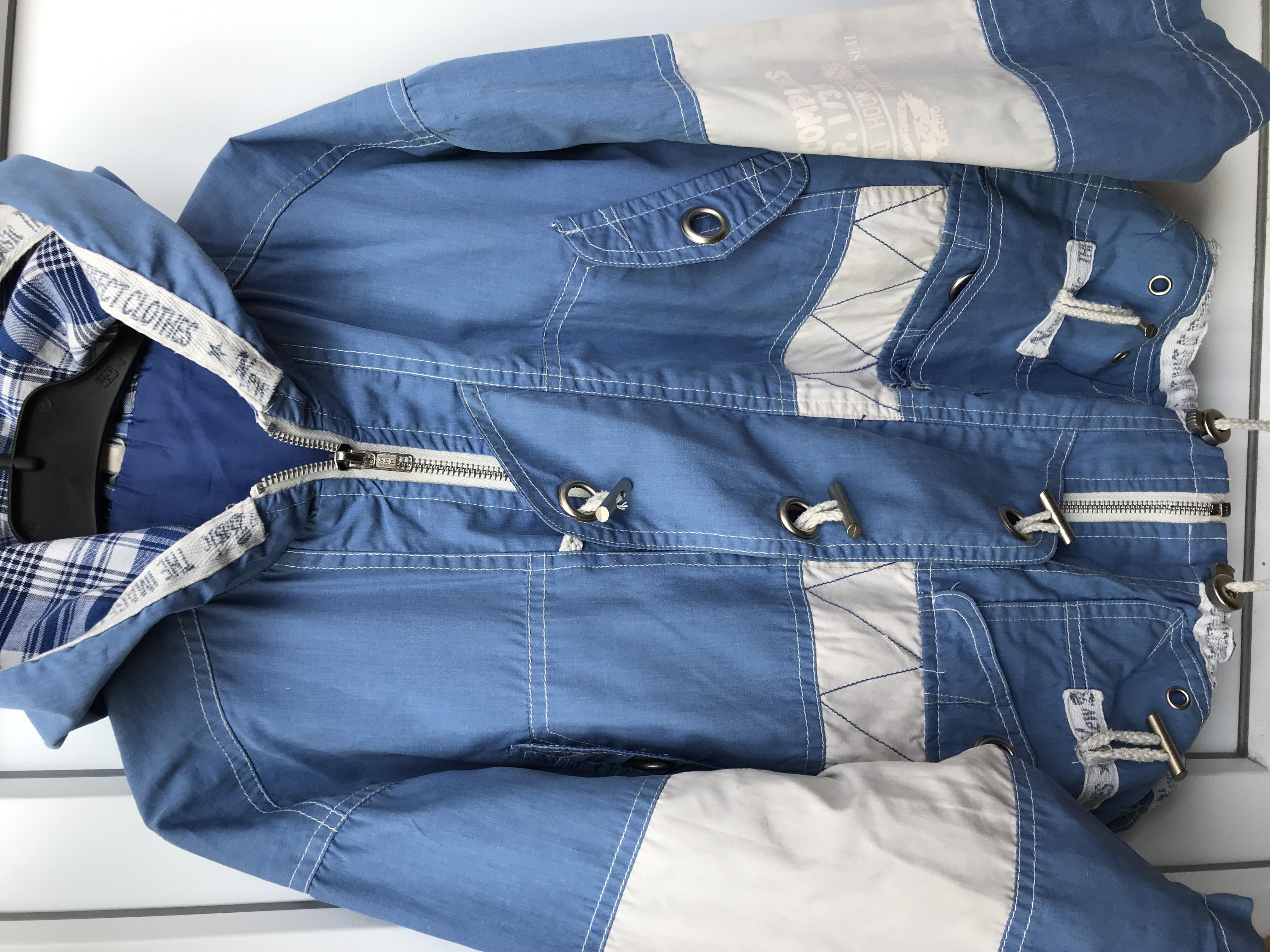 Куртка ветровка, 7-8лет - Фото №1