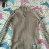 Плотный хлопковый свитер, на укр. 44-48