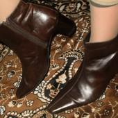 кожаные ботинки р.40 Street USA