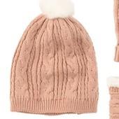 Тепла шапочка на флісовій підкладці, розмір 86/98, буде і на більше, бренд lupilu Геpманія