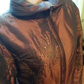 Тепленькая шикарная куртка на осень