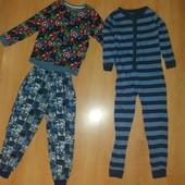Комплектом! Пижама + слип, хлопок на 8-9 л и р 128-134 см!