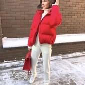 Модные и стильные куртки, матовая плотная плащевка, очень тёплые, 42, 44, 46 рр, много расцветок!