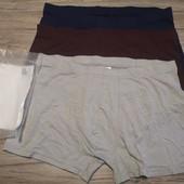 H&m! Мужские трусы боксеры, 3 шт в наборе, размер Xl.