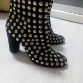 Замшевые ботинки, 40р., 26см