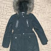 Куртка Парка на девочку 8-9 лет St.Bernard (Ст.Бернард) цвет черный