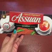 Польша .Экономупаковка Assuan чай черный 100 пакетов