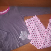 Young Dimension Флисовая пижама для девочки, на 9-10лет, на рост 140