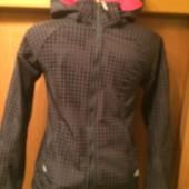 Кофта, куртка. внутри на флисе, размер 12-13 лет 158 см, H&M sport.