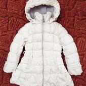 Шикарный фирменный пуховик моднице Snowimage 98-110см
