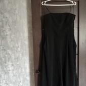 Фирменный красивый комбинезон с брюками-кюлотами в отличном состоянии р.12-14 верх просиликонен