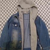 Куртка джинсовая на 4-6 лет
