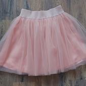 Роскошная пышная юбка куколка из евросетки с подкладкой