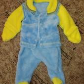 Махровый костюмчик для новорожденного!
