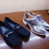 """лот туфлей,туфли - мокасины 39 размер фирмы"""" Street Feet"""", туфли Zara б\у в подарок"""